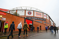 A general view of Bramall Lane, home of Sheffield United FC<br /> <br /> Photographer Alex Dodd/CameraSport<br /> <br /> The EFL Sky Bet Championship - Sheffield United v Leeds United - Saturday 1st December 2018 - Bramall Lane - Sheffield<br /> <br /> World Copyright &copy; 2018 CameraSport. All rights reserved. 43 Linden Ave. Countesthorpe. Leicester. England. LE8 5PG - Tel: +44 (0) 116 277 4147 - admin@camerasport.com - www.camerasport.com