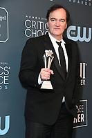 12 January 2020 - Santa Monica, California - Quentin Tarantino. 25th Annual Critici's Choice Awards - Press Room held at Barker Hangar. Photo Credit: Birdie Thompson/AdMedia