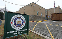 NWA Democrat-Gazette/DAVID GOTTSCHALK The former location of the Washington County Emergency Operations Center is visible Friday, March 1, 2019, in Fayetteville. The building is under renovation to be the Washington County Crisis Stabilization Unit.