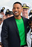 Will Smith at The Intrepid promoting the film Men In Black III, May 23, 2012. Copyright Kristen Driscoll / Media Punch