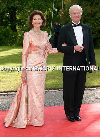 """KING CARL GUSTAF AND QUEEN SILVIA.PRINCESS VICTORIA_PRE-WEDDING DINNER.hosted by the Swedish Government, Eric Ericsonhallen, Stockholm_18/062010.Mandatory Credit Photo: ©DIAS-NEWSPIX INTERNATIONAL..**ALL FEES PAYABLE TO: """"NEWSPIX INTERNATIONAL""""**..IMMEDIATE CONFIRMATION OF USAGE REQUIRED:.Newspix International, 31 Chinnery Hill, Bishop's Stortford, ENGLAND CM23 3PS.Tel:+441279 324672  ; Fax: +441279656877.Mobile:  07775681153.e-mail: info@newspixinternational.co.uk"""