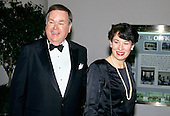 United States Senator David Boren (Democrat of Oklahoma) and his wife, Molly, arrive at the White House in Washington, DC for the State Dinner honoring President Carlos Menem of Argentina on Thursday, November 14, 1991.<br /> Credit: Ron Sachs / CNP