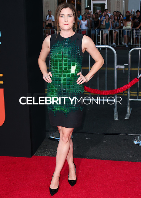 HOLLYWOOD, LOS ANGELES, CA, USA - SEPTEMBER 15: Kathryn Hahn arrives at the Los Angeles Premiere Of Warner Bros. Pictures' 'This Is Where I Leave You' held at the TCL Chinese Theatre on September 15, 2014 in Hollywood, Los Angeles, California, United States. (Photo by Xavier Collin/Celebrity Monitor)