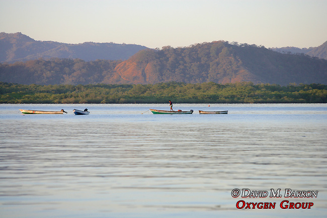 Fisherman On The Gulf Of Nicoya
