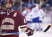Chris Collins - The Boston College Eagles defeated the University of Massachusetts-Lowell River Hawks 4-3 in overtime on Saturday, January 28, 2006, at the Paul E. Tsongas Arena in Lowell, Massachusetts.