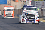 Czech driver Adam Lacko belonging Czech team Buggyra International Racing System during the super pole SP2 of the XXX Spain GP Camion of the FIA European Truck Racing Championship 2016 in Madrid. October 02, 2016. (ALTERPHOTOS/Rodrigo Jimenez)