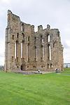 Tynemouth priory, Northumberland, England