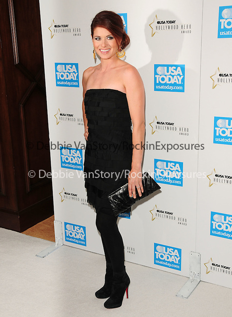Debra Messing at The 4th annual USA TODAY Hollywood Hero Award Gala honoring Ashley Judd held at The Montage Beverly Hills in Beverly Hills, California on November 10,2009                                                                   Copyright 2009 DVS / RockinExposures