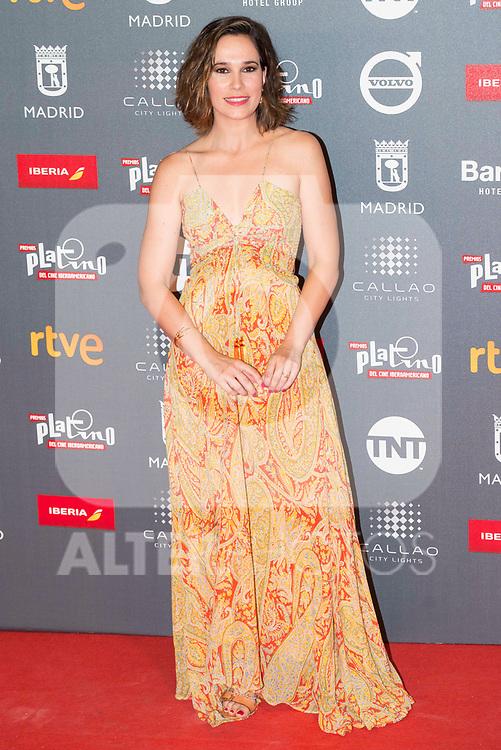Celia Freijeiro attends to welcome party photocall of Platino Awards 2017 at Callao Cinemas in Madrid, July 20, 2017. Spain.<br /> (ALTERPHOTOS/BorjaB.Hojas)