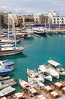 CYPRUS, North cyprus (turkish), Keryneia (Girne): small seaport at north-coast with mediterranean flair<br />