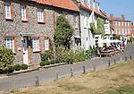 The Hoste Arms hotel in the upmarket  village of Burnham Market, north Norfolk, England