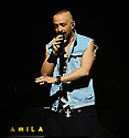 MIAMI, FL - FEBRUARY 29: Mario Domm of Latin Pop Rock Group Camila performs on stage at James L. Knight Center on February 29, 2020 in Miami, Florida.  ( Photo by Johnny Louis / jlnphotography.com )