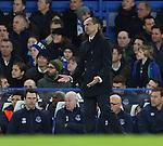 Everton's Roberto Martinez looks on dejected<br /> <br /> Barclays Premier League- Chelsea vs Everton  - Stamford Bridge - England - 11th February 2015 - Picture David Klein/Sportimage