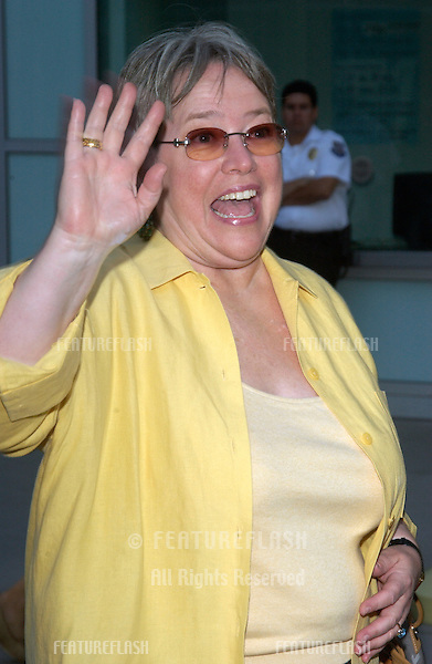 Actress KATHY BATES at the Los Angeles premiere of Northfork..July 10, 2003.