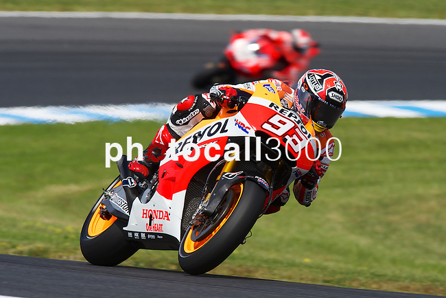 GP Moto Australia during the Moto World Championship 2014 in Phillip Island.<br /> MotoGP<br /> marc marquez<br /> Rafa Marrodán/PHOTOCALL3000