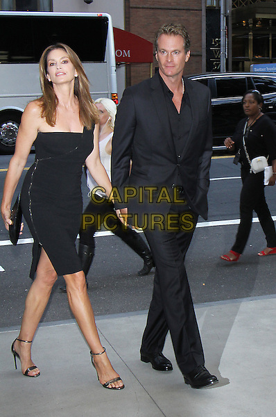 NEW YORK, NY-September 08: Cindy Crawford, Rande Gerber, at Daily Front Row Fashion Media Awards at Park Hyatt in New York. NY September 08, 2016. <br /> CAP/MPI/RW<br /> &copy;RW/MPI/Capital Pictures