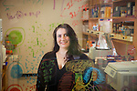Maria Ciofani, PhD, Assistant Professor of Immunology, is studying the immune system's ability to start and stop its aggression against other cells, in her Jones Building lab.