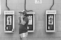 - USA, public phone in New Jersey <br /> <br /> - USA, posto telefonico pubblico nel New Jersey