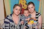 HAPPY ENDING: There was a happy ending to a terrifying ordeal involving little James Mullane, his mother Nicola and her friend Sharon Larkin in Listowel last week.<br /> L/r. Nicola Mullane, James Mullane and Sharon Larkin.