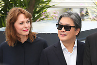 MAREN ADE AND PARK CHAN-WOOK - PHOTOCALL OF JURY AT THE 70TH FESTIVAL OF CANNES 2017