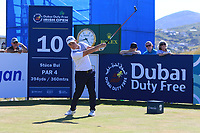 Cian McNamara (IRL) on the 10th tee during Round 2 of the Dubai Duty Free Irish Open at Ballyliffin Golf Club, Donegal on Friday 6th July 2018.<br /> Picture:  Thos Caffrey / Golffile