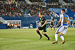 Leganes Jose Naranjo shooting vs Real Madrid during Copa del Rey  match. A quarter of final go. 20180118.