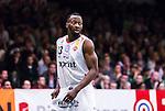 S&ouml;dert&auml;lje 2014-04-22 Basket SM-Semifinal 7 S&ouml;dert&auml;lje Kings - Uppsala Basket :  <br /> Uppsalas Oladapo Dee Ayuba <br /> (Foto: Kenta J&ouml;nsson) Nyckelord:  S&ouml;dert&auml;lje Kings SBBK Uppsala Basket SM Semifinal Semi T&auml;ljehallen portr&auml;tt portrait