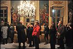 Inaugurazione dell'appartamento di levante della Reggia di Stupinigi.