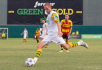 JULY 4, 2012 - ST. PETERSBURG, FLORIDA: The Tampa Bay Rowdies match against the Fort Lauderdale Strikers on July 4, 2012 at Al Lang Field. The Rowdies won the match 3-1. Photo by Matt May/Tampa Bay Rowdies