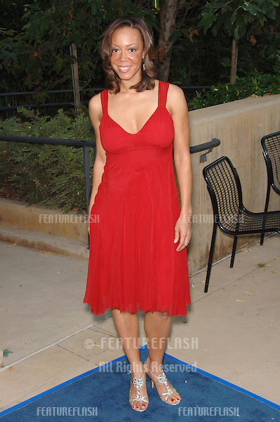 "Actress ANGELA RAWNA at the Los Angeles Film Festival premiere of her new movie ""A Scanner Darkly"" at the John Anson Ford Amphitheatre, Los Angeles..June 29, 2006  Los Angeles, CA.© 2006 Paul Smith / Featureflash"