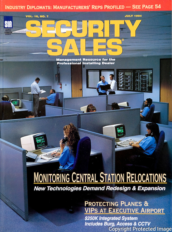 Security Sales Magazine Cover