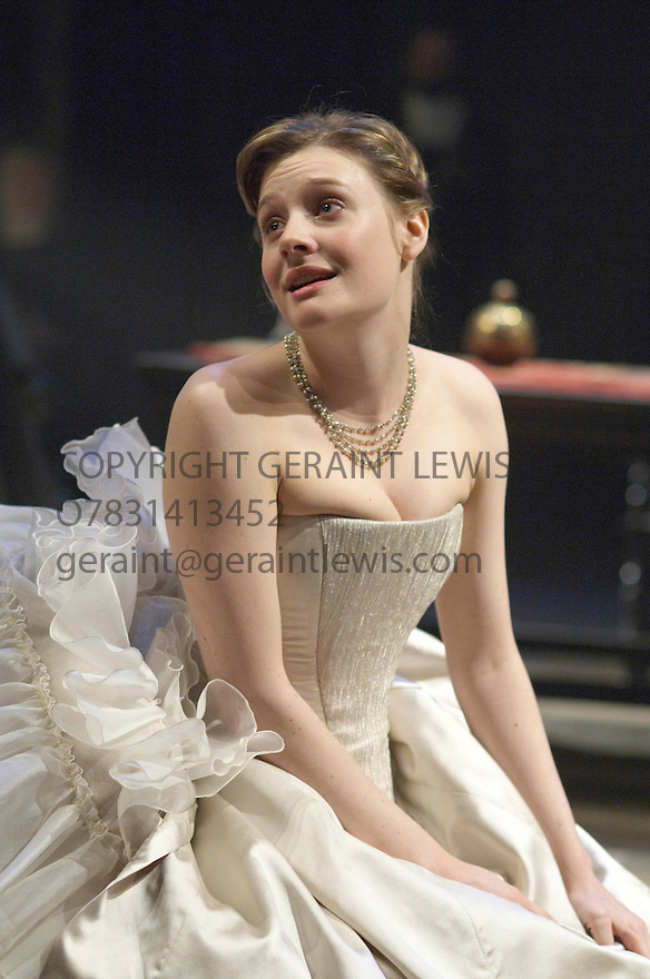 King Lear by William Shakespeare . A Royal Shakespeare Production directed by Trevor Nunn. With Romola Garai as Cordelia . Opens at the Courtyard Theatre at Stratford upon Avon on 3/4/07.   CREDIT Geraint Lewis