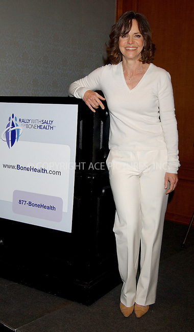 WWW.ACEPIXS.COM . . . . . ....NEW YORK, APRIL 20, 2006....Sally Field launches 'Osteoporosis Awareness Campaign'.....Please byline: KRISTIN CALLAHAN - ACEPIXS.COM.. . . . . . ..Ace Pictures, Inc:  ..(212) 243-8787 or (646) 679 0430..e-mail: picturedesk@acepixs.com..web: http://www.acepixs.com