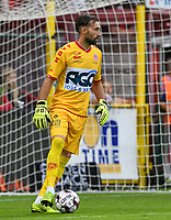KORTRIJK , BELGIUM - AUGUST 03 : Sebastien Bruzzese of Kortrijk pictured during the Jupiler Pro League match day 2 between Kv Kortrijk and Sporting Charleroi on August 03 , 2019 in Kortrijk , Belgium . ( Photo by David Catry / Isosport )