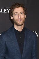 LOS ANGELES - MAR 18:  Thomas Middleditch at the PaleyFest LA 2018 - Silicon Valley at Dolby Theater on March 18, 2018 in Los Angeles, CA
