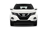 Car photography straight front view of a 2017 Nissan Qashqai N Connect 5 Door SUV