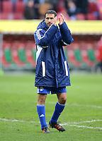 FUSSBALL   1. BUNDESLIGA  SAISON 2011/2012   32. Spieltag FC Augsburg - FC Schalke 04         22.04.2012 Raul (FC Schalke 04)
