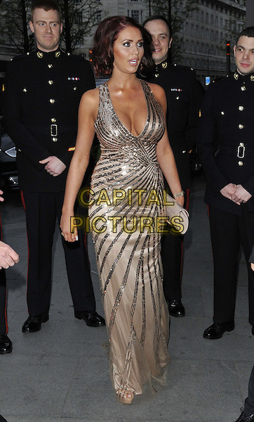 LONDON, ENGLAND - APRIL 05: Amy Childs attends the Soldiering On Awards 2014, Park Plaza Westminster Bridge Hotel, Westminster Bridge, on Saturday April 05, 2014 in London, England, UK.<br /> CAP/CAN<br /> &copy;Can Nguyen/Capital Pictures