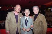 Blackpool FC legends (L-R) Jock Dodds,Jackie Mudie and Sir Stanley Matthews,Tangerine Nitespot 13/10/1991
