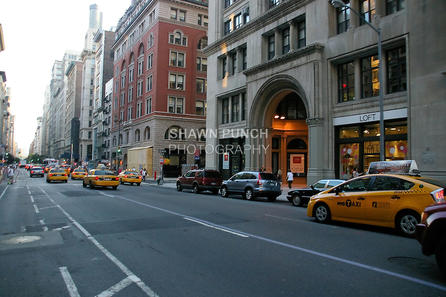 Image from my 8th Avenue/Broadway bike ride on July 12, 2011.