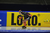 SCHAATSEN: HEERENVEEN: 24-10-2014, IJsstadion Thialf, Trainingswedstrijd, Erik Jan Kooiman, ©foto Martin de Jong
