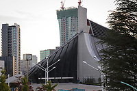 2020, Tokyo, Japan;  Yoyogi National Stadium TQUIO, TO arena where Handball, Badminton and Wheelchair Rugby will take place at the Tokyo 2020 Olympic Games