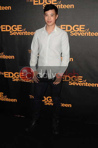 "Hayden Szeto<br /> at the ""Edge of Seventeen"" Photo Call, Four Seasons Hotel, Beverly Hills, CA 10-29-16<br /> David Edwards/DailyCeleb.com 818-249-4998"