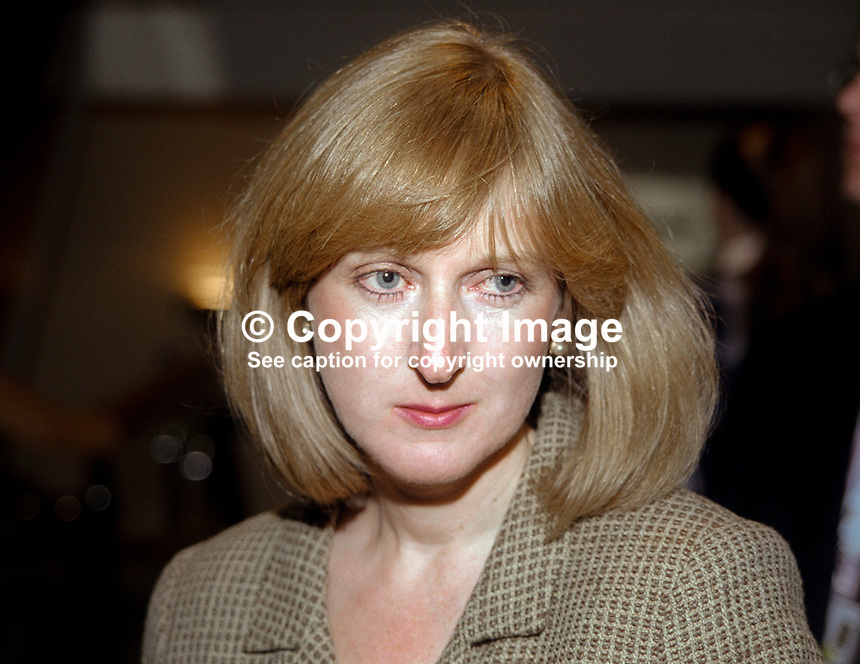 Gaynor Cook, wife, Robin Cook, MP, Labour Party, UK, October, 1998, 199810265<br />
