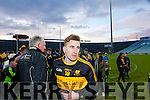 Mike Milner Dr. Crokes players and supporters celebrate defeating Corofin in the Semi Final of the Senior Football Club Championship at the Gaelic Grounds, Limerick on Saturday.