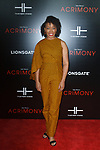 """Guest arrives on the red-carpet for Tyler Perry""""s ACRIMONY movie premiere at the School of Visual Arts Theatre in New York City, on March 27, 2018."""