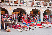 "Doha, Qatar. Recently Modernized ""Traditional"" Rug Market, patronized both by local buyers and by tourists."