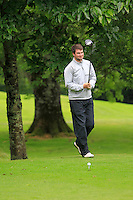 Richard Tighe (Elm Park) on the 3rd tee during round 1 of The Mullingar Scratch Cup in Mullingar Golf Club on Sunday 3rd August 2014.<br /> Picture:  Thos Caffrey / www.golffile.ie
