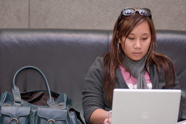 17312Grover Center inside shots: Students Studying talking Diversity...Joanne Romero