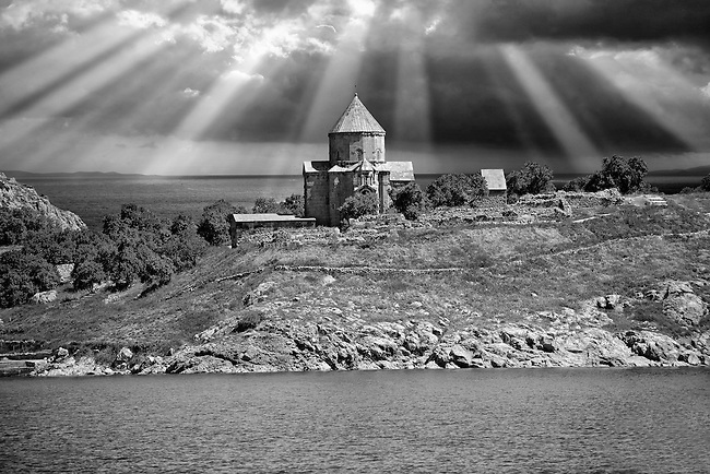 10th century Armenian Orthodox Cathedral of the Holy Cross on Akdamar Island, Lake Van Turkey 91